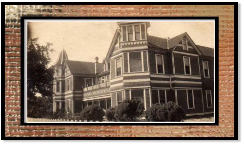 Historic Photo of the Woodbine Hotel, courtesy of the Woodbine Hotel.