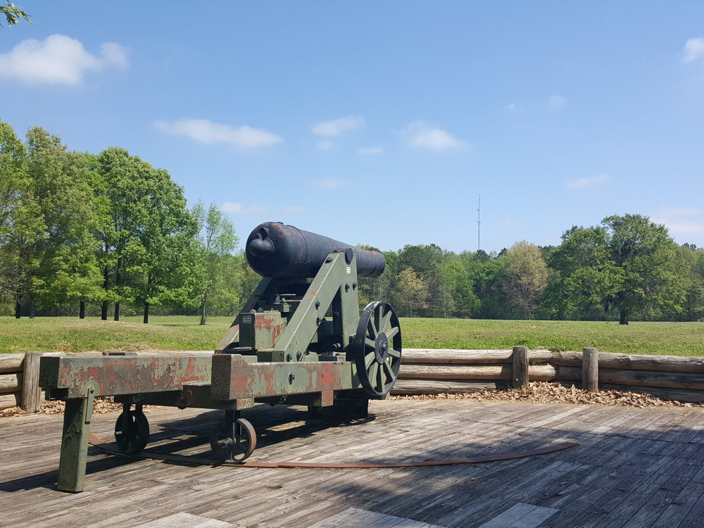 Port Hudson Civil War Battlefield. Photo: Michelle Tebow