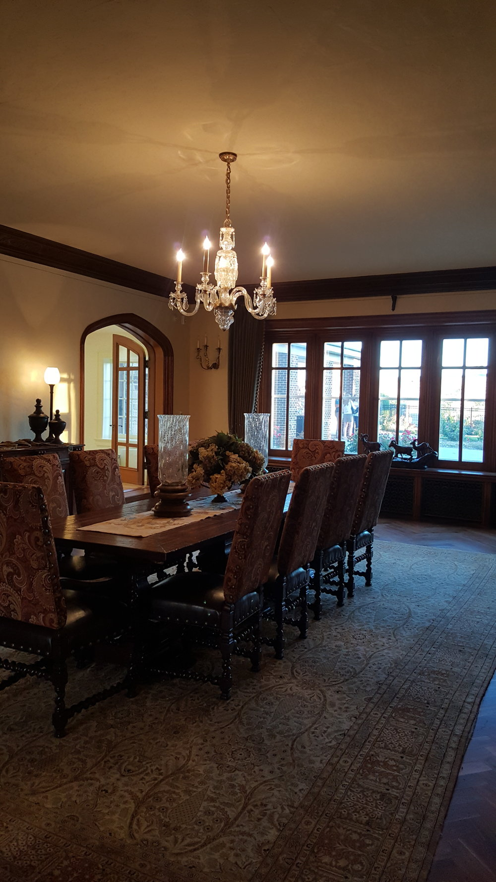 The Dining Room at Highlands Ranch Mansion. Photo: Michelle Tebow