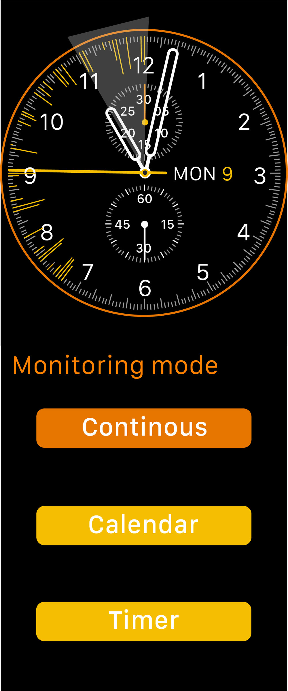Continuous monitoring mode