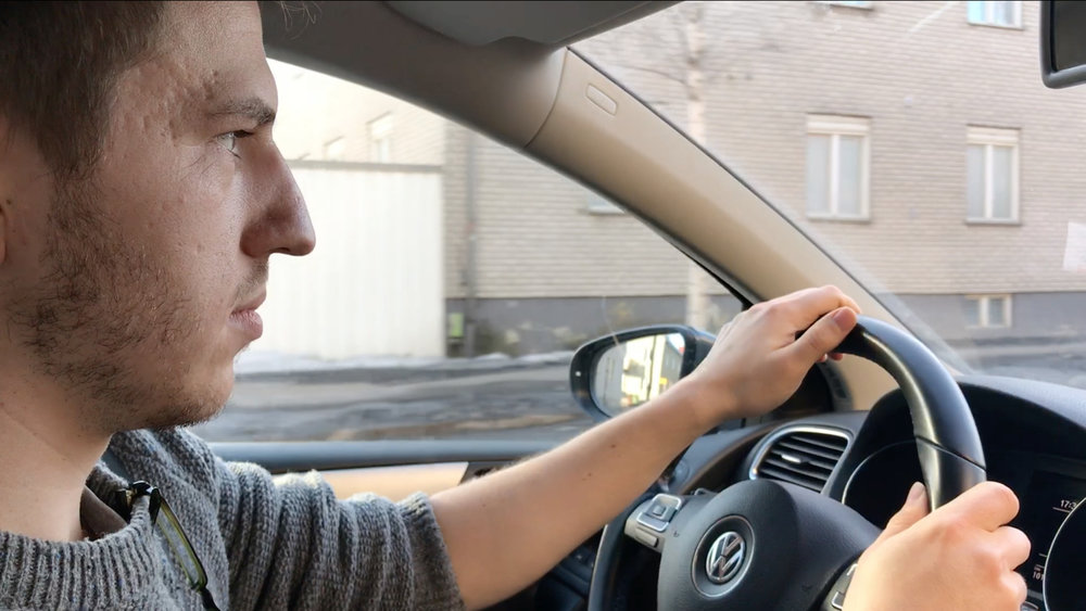 Possible user scenario 1: Mind-wandering while driving car