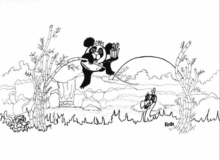 Wonderful Secret Garden Coloring Book Tiny Curious George Coloring Book Regular Skull Coloring Book Marvel Coloring Books Young Pantone Color Books PinkFairy Coloring Book Panda Coloring Book Page \u2014 Yo Arty