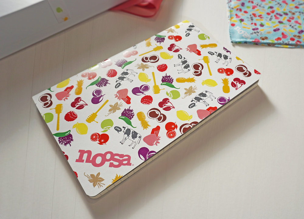 "Noosa perfect bound ""fruits"" notebook"