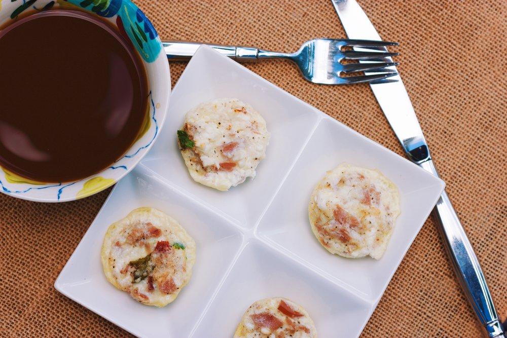 Mini Strata Egg White Muffins Cardio Coffee And Kale