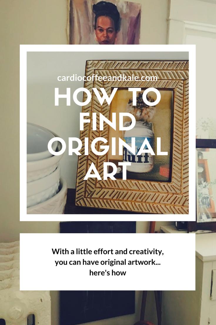 how to find original art
