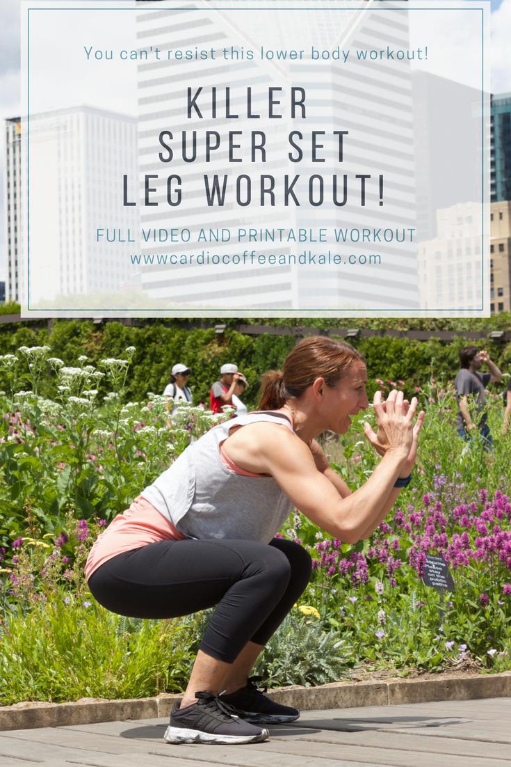 Killer leg super set workout