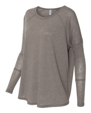 Alternative Tunic Grey - The relaxed fit and shirttail hem makes this a great addition to your activewear!