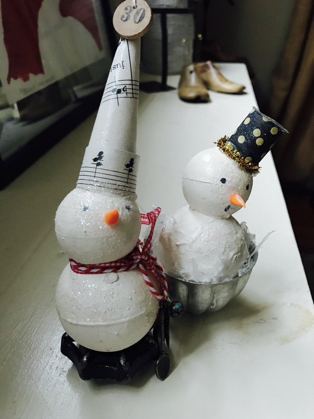 snowmen DIY Friday Favorites