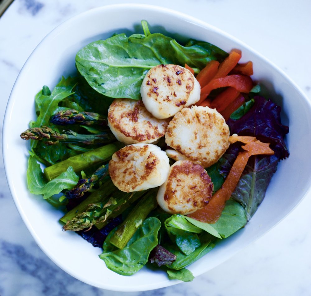 Are you a fan of seafood?  It's a great source of lean protein!   - Check out more seafood recipes here