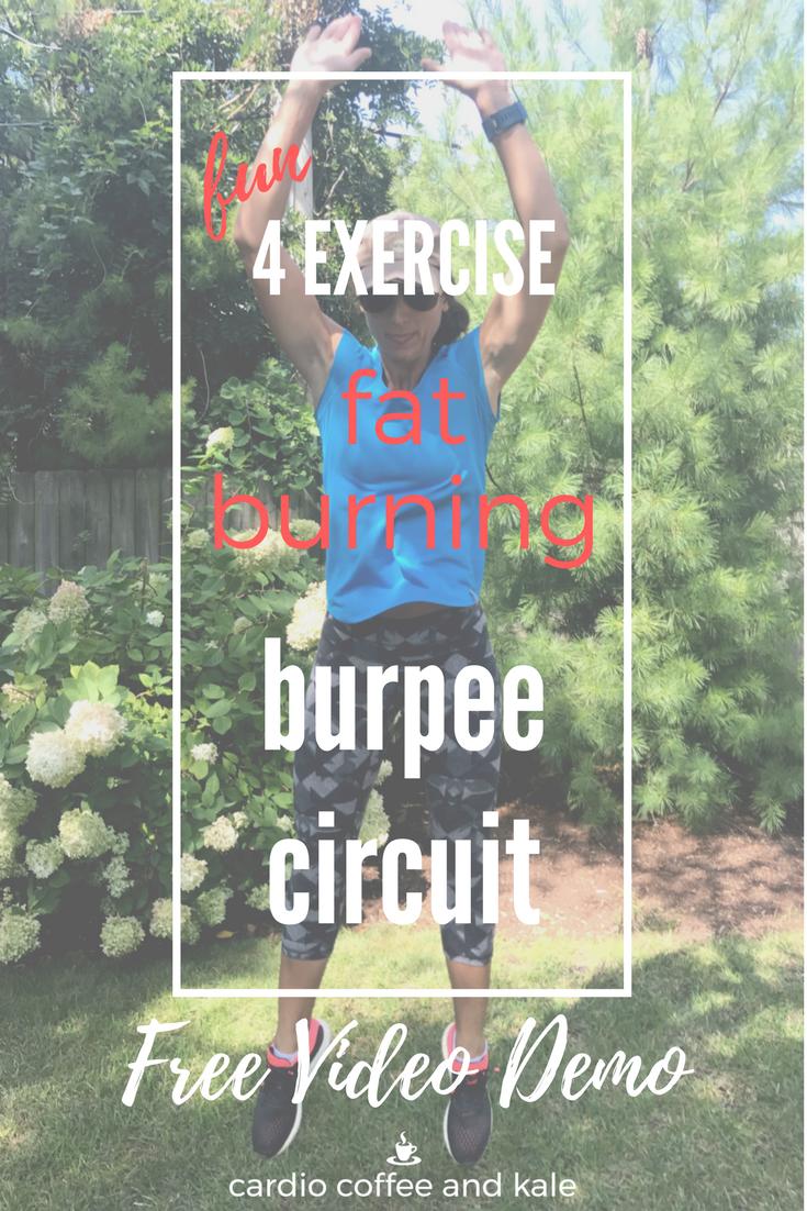 burpee circuit www.cardiocoffeeandkale.com