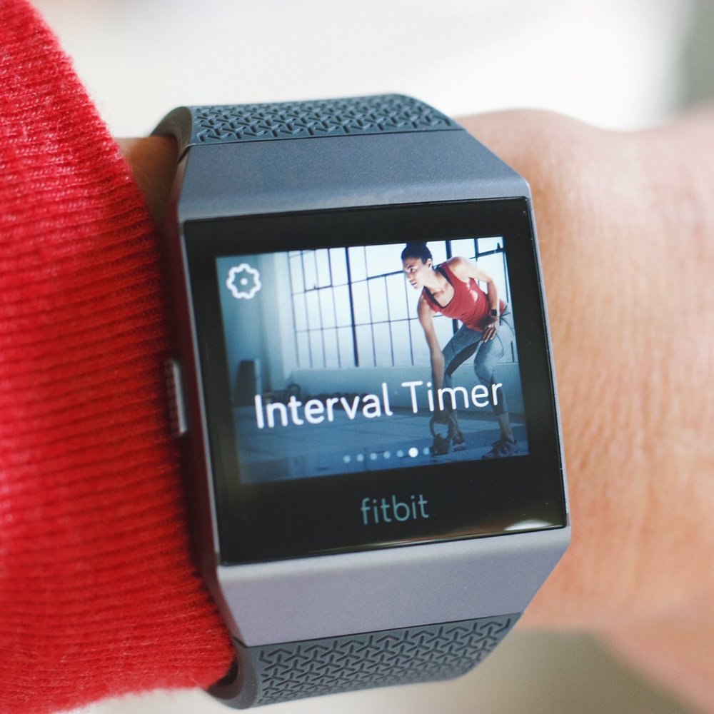 Do You Want The Fitbit Ionic Read This First Cardio Coffee And Kale Charcoal Smoke Gray