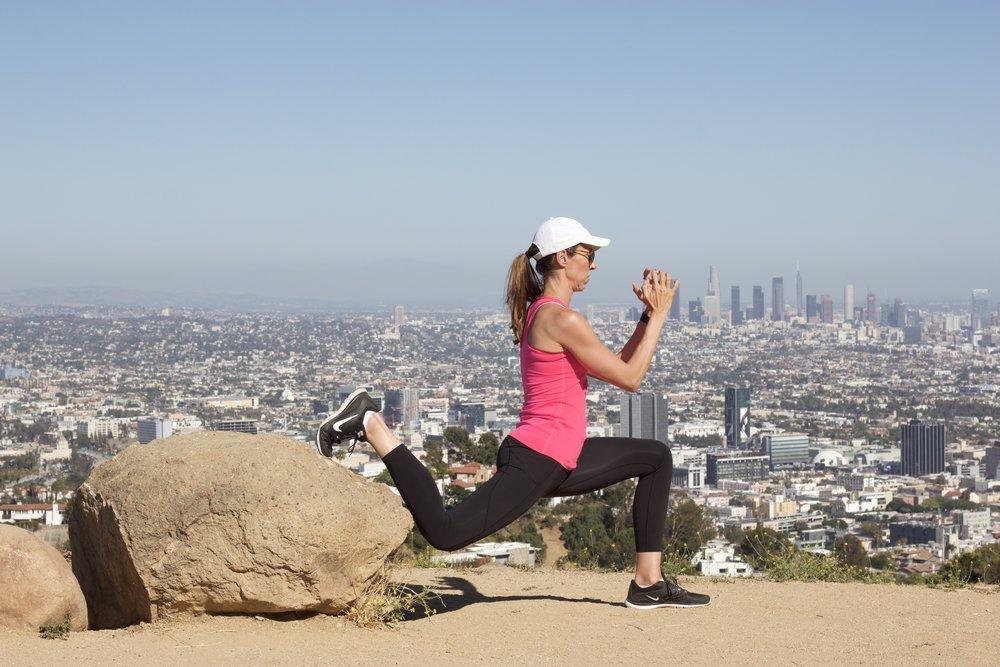 10 Minute Trail Workout www.cardiocoffeeandkale.com