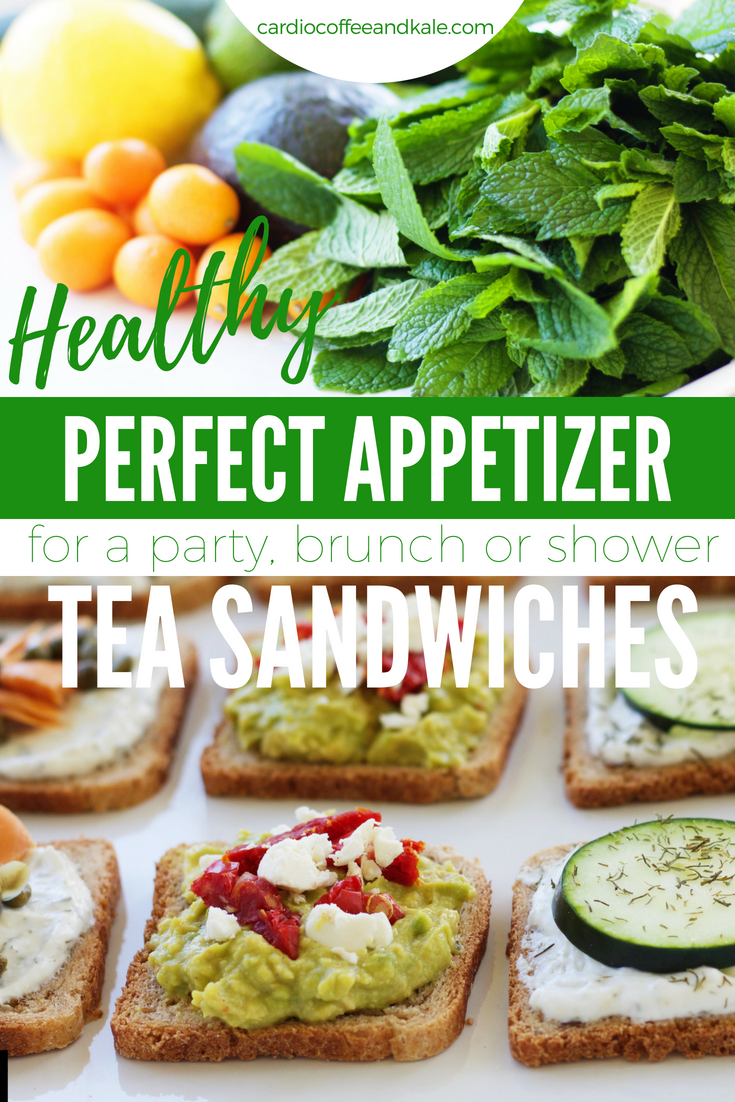 Perfect for your next brunch, shower, or even a tea party!  Healthy and delicious!  cardiocoffeeandkale.com