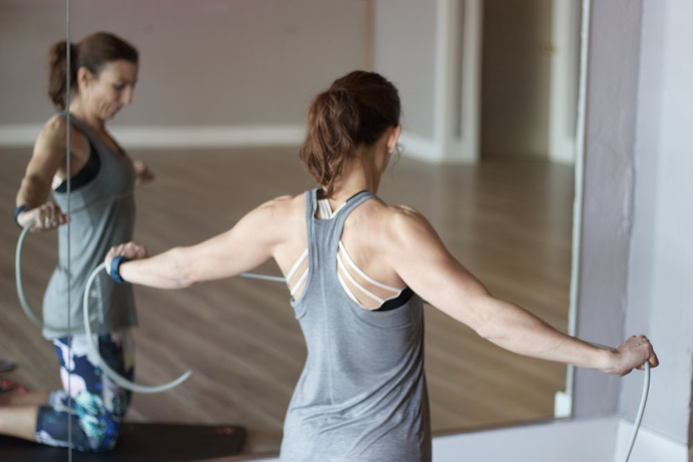 Total Body Band Workout cardiocoffeeandkale.com