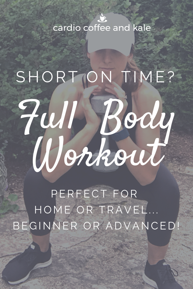 full body workout. www.cardiocoffeeandkale.com