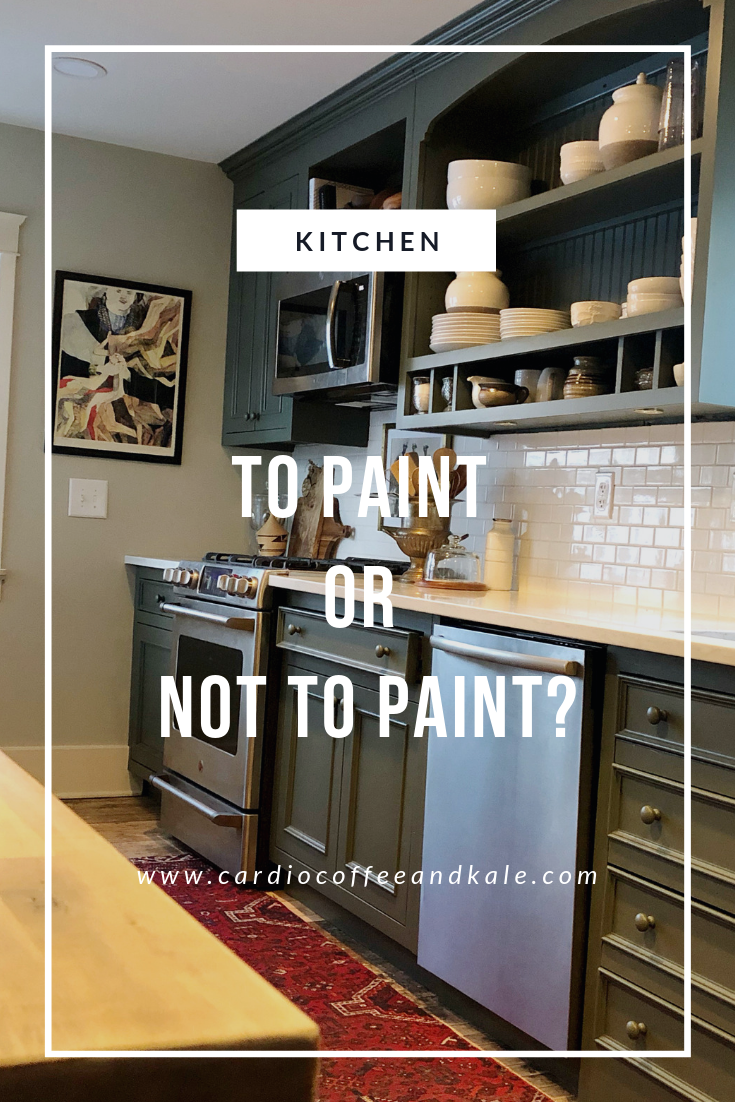 paint or not to paint. www.cardiocoffeeandkale.com