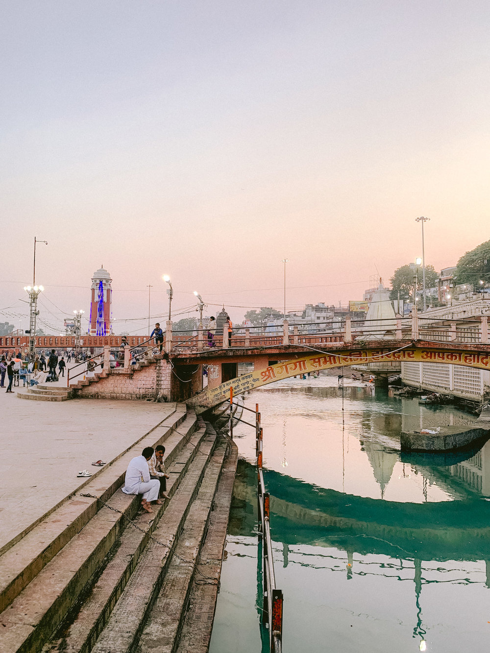 "HAR KI PAURI - ""Har Ki Pauri is a famous ghat on the banks of the Ganges in Haridwar in Uttarakhand state in India. This revered place is the major landmark of the holy city of Haridwar. Literally,"