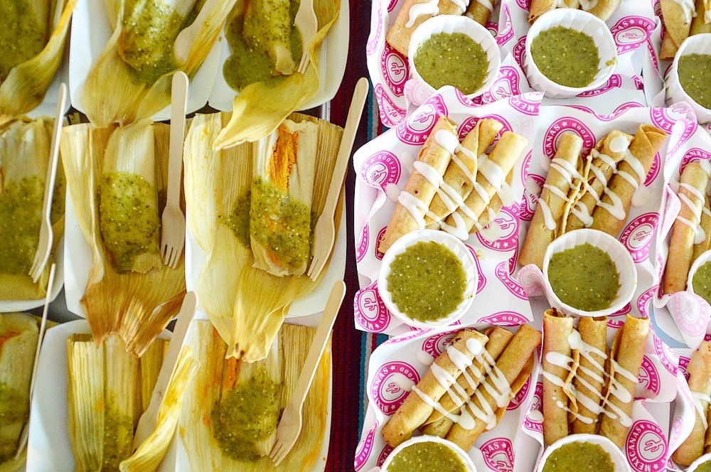 Mexikings traditional tamales & flautas