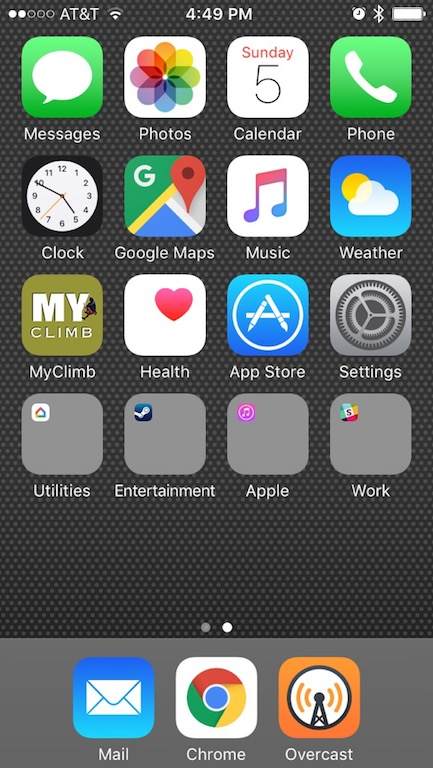 What's on my Home Screen — A Kane & Able
