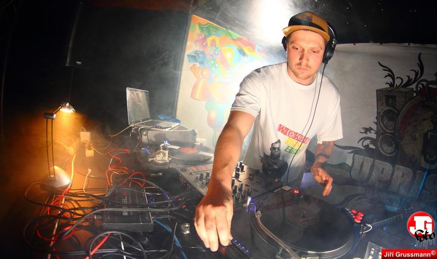 DJing in Slovakia @ Uprising Festival 2015.