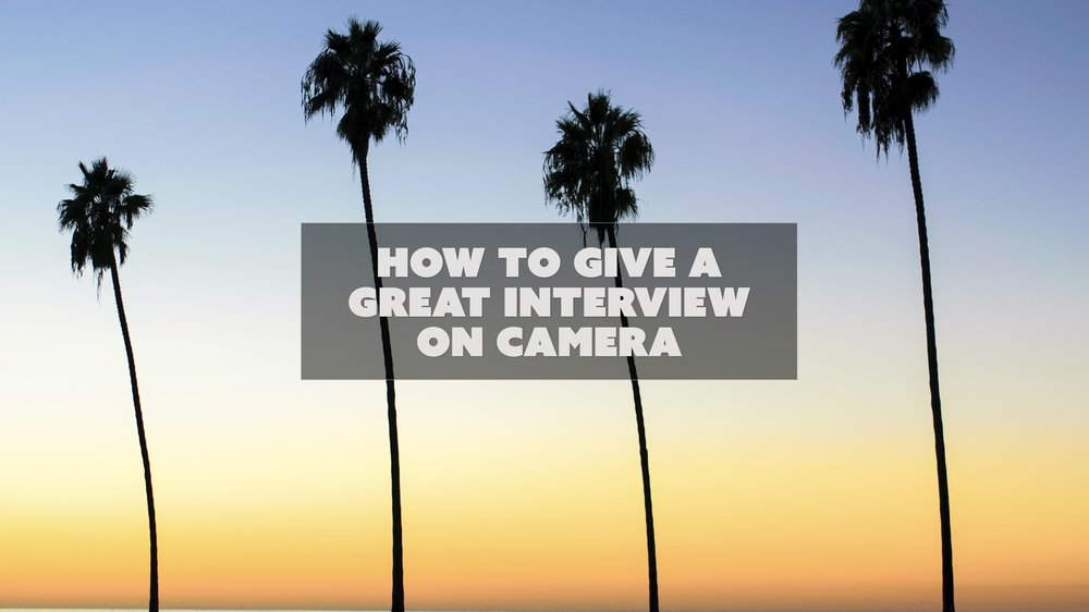 HowToGiveAGreatInterview