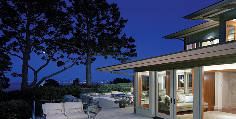 Marin Residence   CONTRACTOR: Ireland, Robinson & Hadley, Inc. -  www.irhadley.com  | PHOTOGRAPHY: Mark Schwartz -  www.markschwartzphotography.com  | LANDSCAPE: Owner| Interior Design: C. Wright Design -  www.cwrightdesign.com