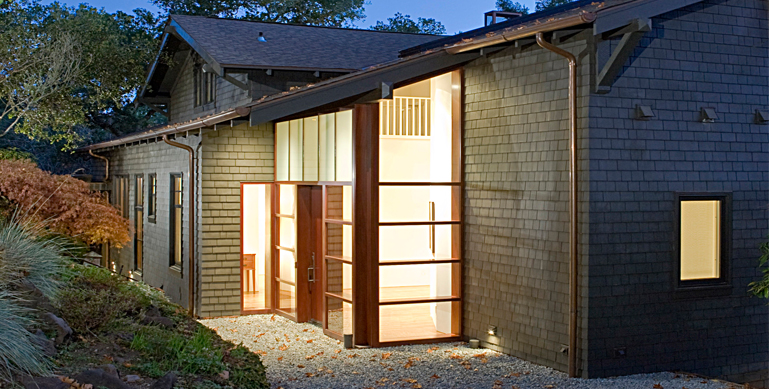 Mill Valley Residence CONTRACTOR: Caletti Construction - www.calettijungsten.com  |  PHOTOGRAPHY: Mark Schwartz - www.markschwartzphotography.com  |  INTERIOR DESIGN: Sutton Suzuki Architects