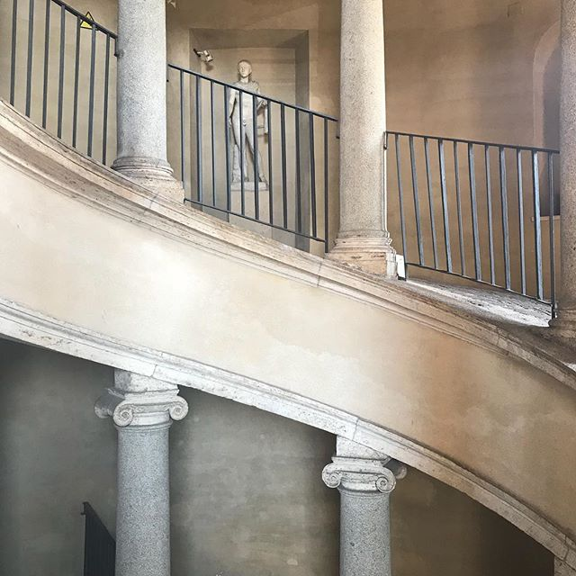 More inspiration from summer vacation - the original Bramante Staircase. . . . . . #donatobramante  #bramantestaircase  #vatican  #vacation  #suttonsuzukiinspirations  #suttonsuzukiarchitects