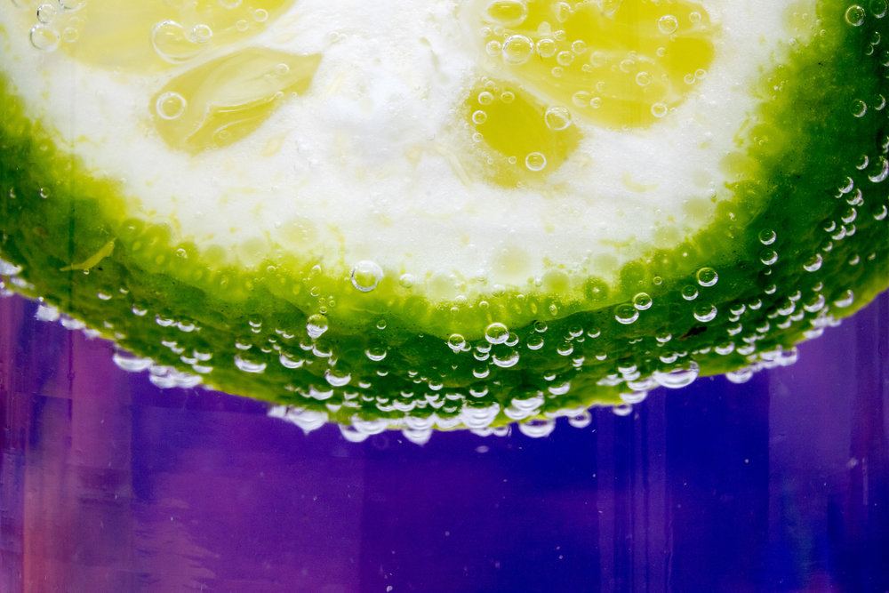 Lime in Seltzer