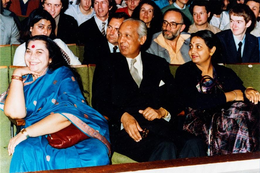 HH Shri Mataji-Commonwealth Institute concert SW7, 1982- (1).jpg