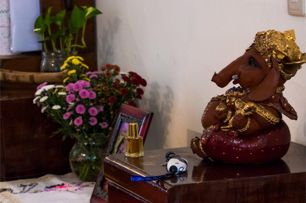 (Shri Ganesha 순진함과 지혜의 대표)