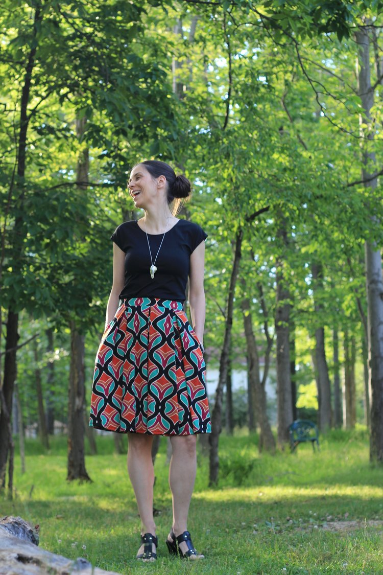 Lularoe Madison Skirt Review The Lularose Garden The Essential