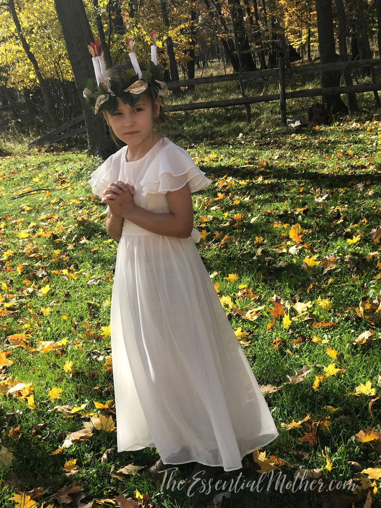 Diy Saint Lucia Crown And Costume Beginner And Intermediate