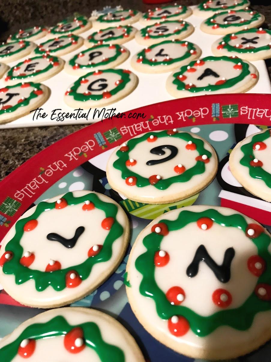 Christmas initial cookies.jpg