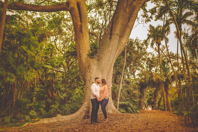 Krystal + Eric Engaged - Fairchild Botanical Gardens - Miami Wedding ...