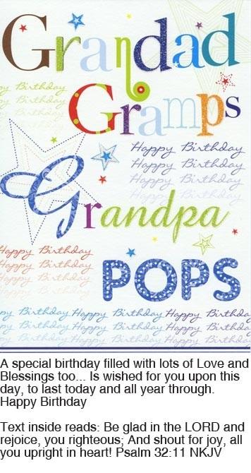 Card Grandad Birthday DUBBO HOME GIFTS