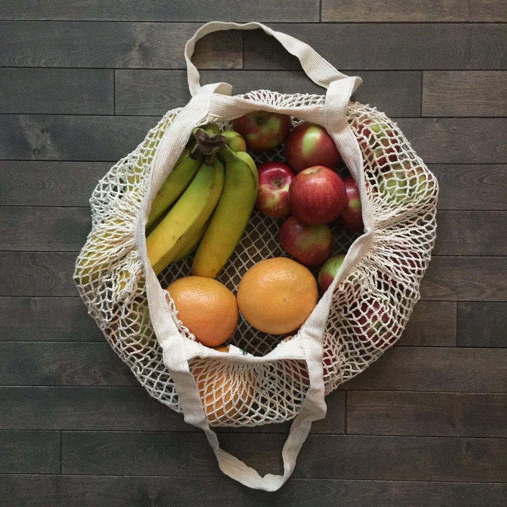 MESH FRUIT AND VEGGIE BAGS