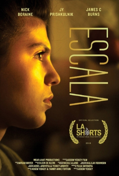 ESCALA - Premiering at the 2018 Academy Award qualifying L.A. Shorts Festival, ESCALA is a film about a young violinist.