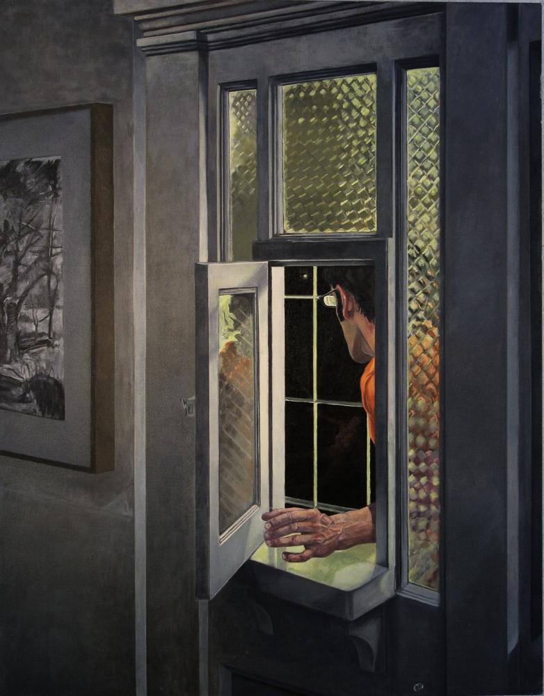 abandon, oil on canvas, 40x48