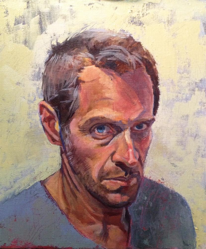 I look like house, oil on canvas, 12x14