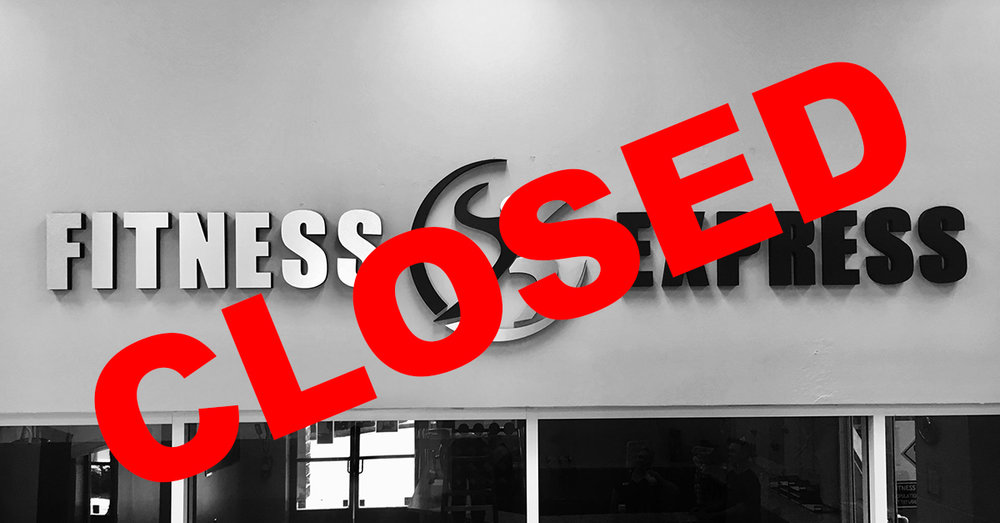 Fitness Express closes doors without notice to any members.