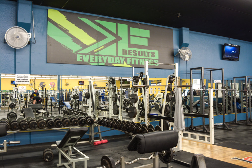 Gyms Near Me in Redding California | EveryDay Fitness