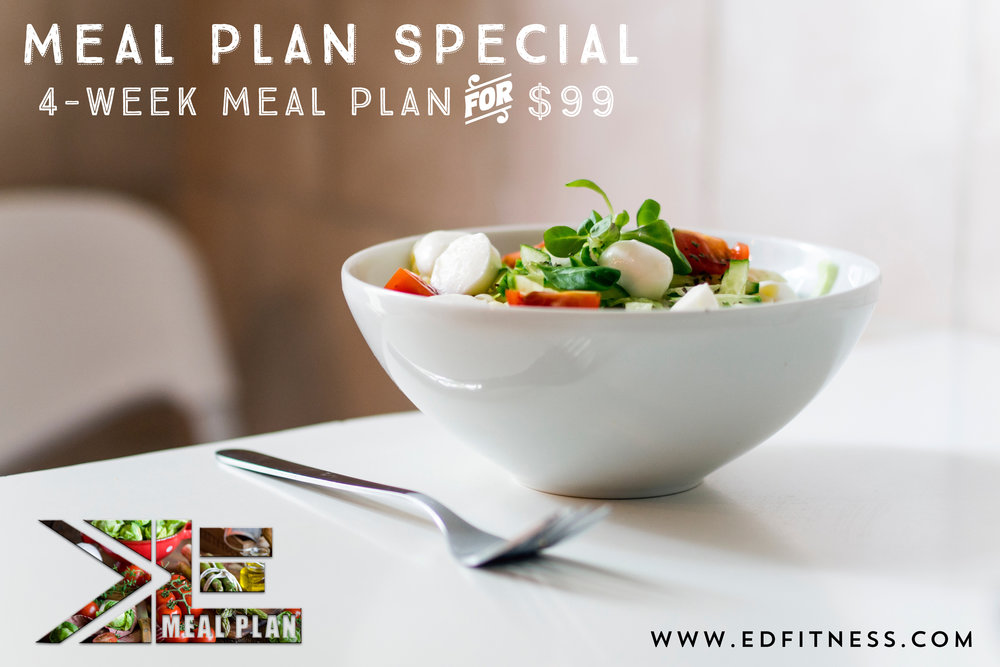 Meal Planning Redding CA EveryDay Fitness Gym