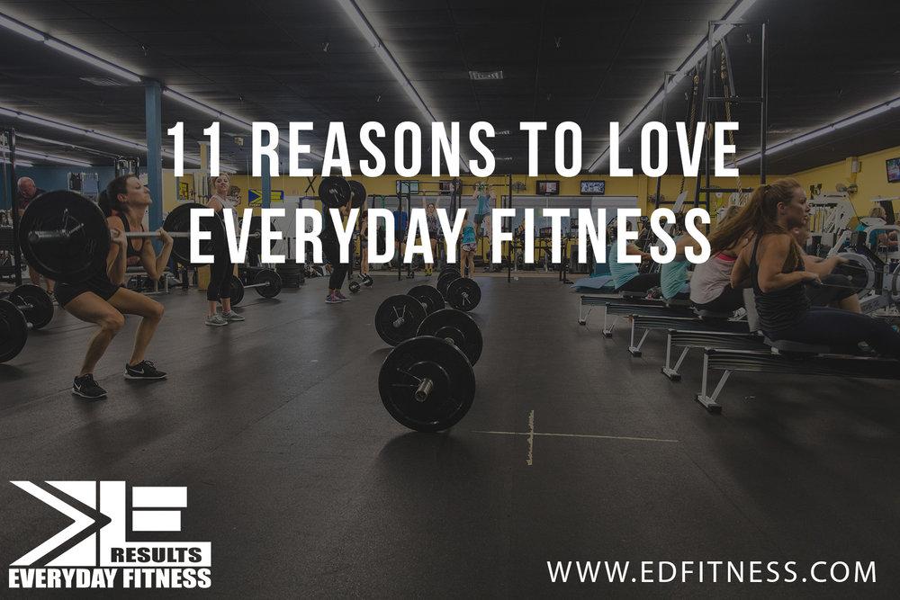 11 Reasons to Love EveryDay Fitness Redding, CA