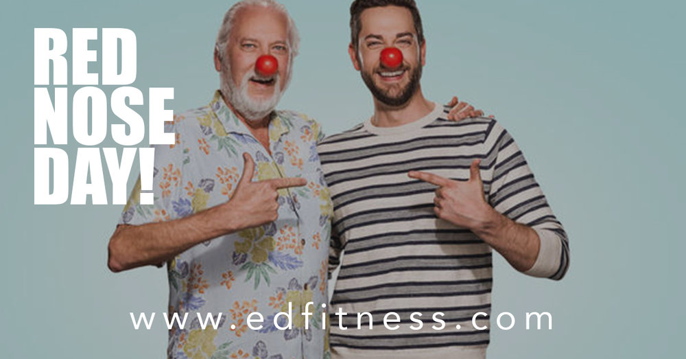 EveryDay Fitness Redding CA Gyms Near Me Red Nose Day 2018 Fundraiser