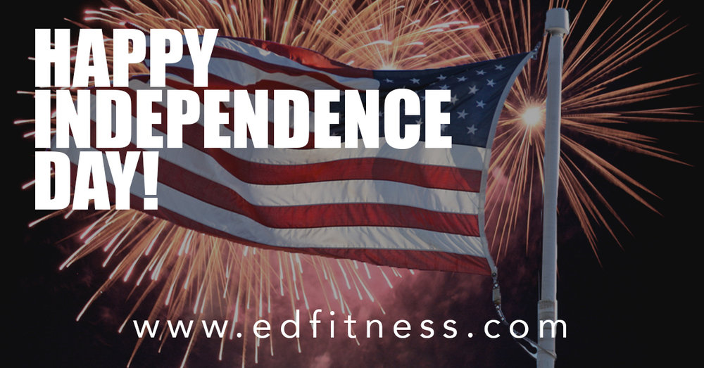 4th of July History Lesson at EveryDay Fitness Redding CA