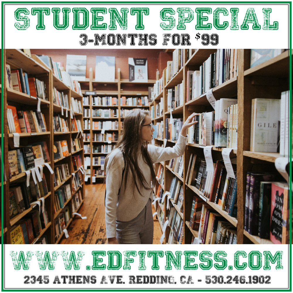 EveryDay Fitness $99 Summer Three Month Student Special