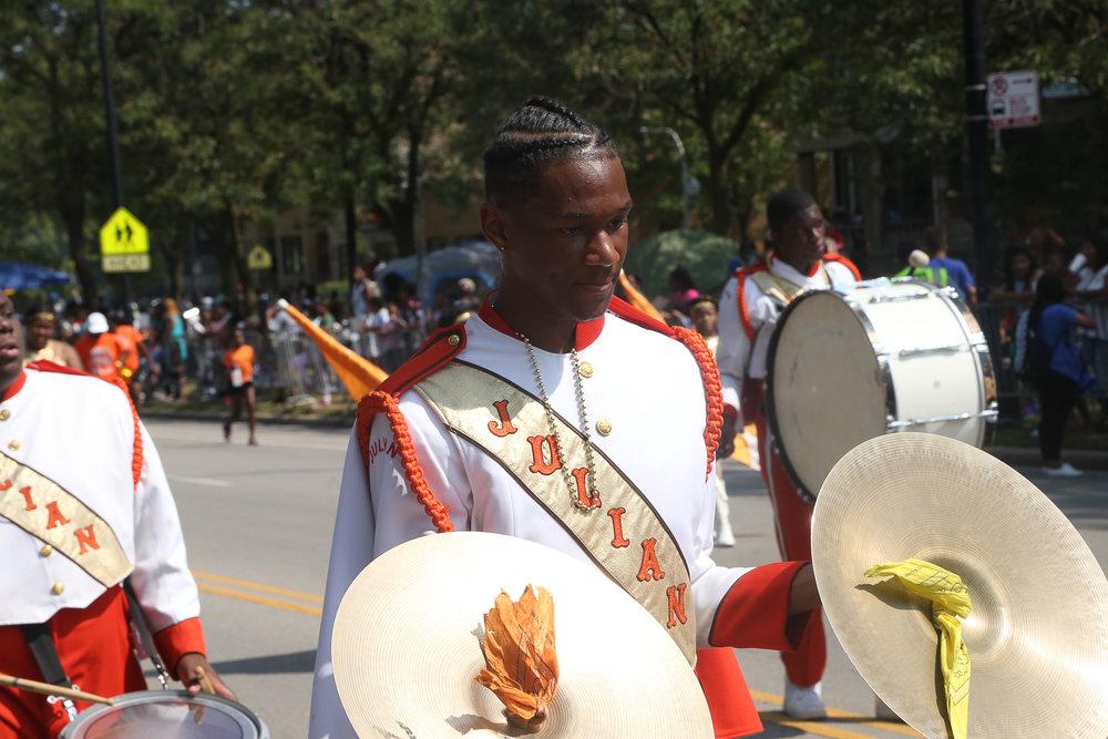 Julian HS Jaguars Marching Band, Photo By Matt Gibson.JPG