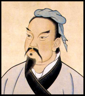 Illustration of Art of War author Sun Tzu