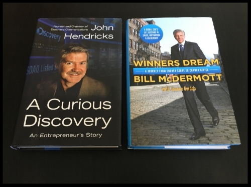 Books by Discovery's founder and SAP's CEO.